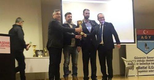 Anadolu Oyunlu Güvercin Yarışı - Ataşehir Mustafa Saffet Kültür Merkezi Kupa Ödül töreni - 2020