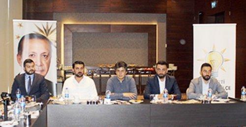Ak Parti Ataşehir İçe Başkanı Avukat Ahmet Özcan'ın Yerel Gazetecilerle Bilgilendirme Toplantısı 2018