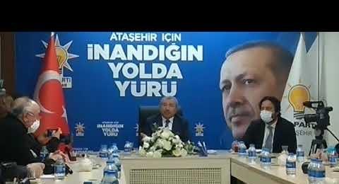 Ak Parti, Ataşehir, İlçe Başkanı, İsmail Erdem, Yerel Basınla buluştu, 19 Mart 2021