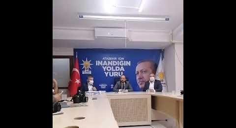 Ak Parti Ataşehir İlçe Başkanı Mehmed Emin ÖZKAYA'nın Basın Açıklaması
