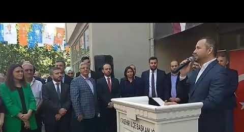 Ak Parti Ataşehir İlce Başkanlığı Bayramlaşma Proğramı, Selamlama Konuşmaları 2019