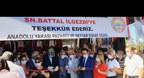 Ataşehir, Barbaros Mahallesi Kapalı Pazarı açıldı