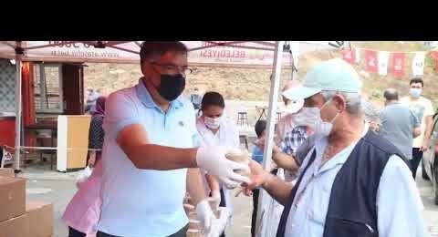 Ataşehir Belediye Başkan Yardımcısı ABDULLAH DER Aşure Dağıtımı Yaptı