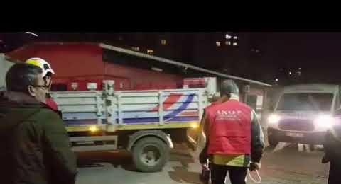 Ataşehir Belediyesi Ekipleri Elazığ Depremzedelerine Yardım İçin Yola Çıktı