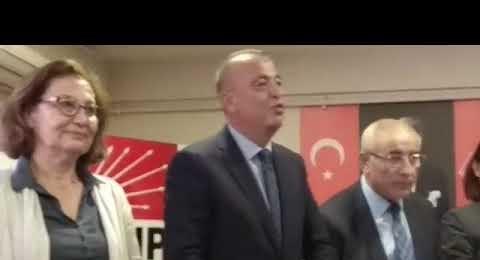 Battal İlgzdi, CHP Ataşehir Belediye Başkanlığı Aday Adaylığı Başvurusunu Yaptı 2018