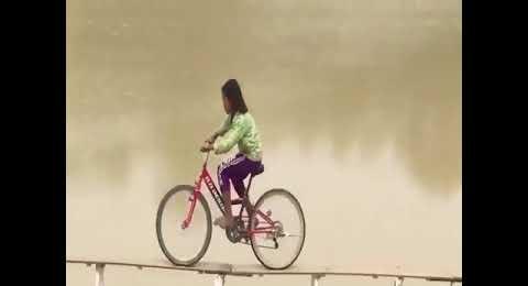 Bisiklet Cambazı Çocuklar Yarışıyor