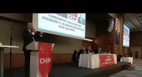 CHP Ataşehir Genel Kurulu - Ataşehir Belediye başkanı Battal İlgezdi nin konuşması