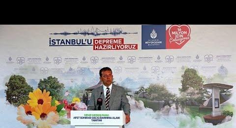 İBB Başkanı Ekrem İmamoğlu, Geçici Barınma Alanları'nı tanıttı