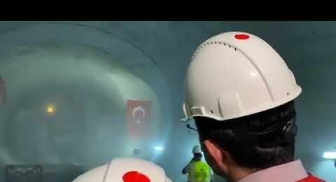 İBB Başkanı Ekrem İmamoğlu, Göztepe - Ümraniye metro inşaatında incelemelerde bulundu