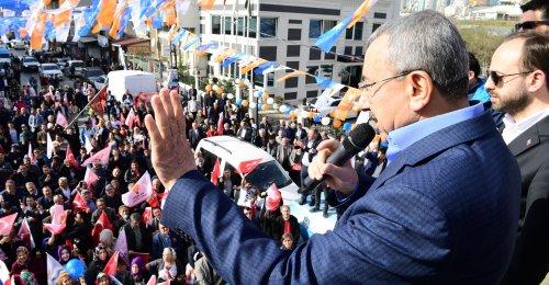 Ak Parti Ataşehir Belediye Başkanı İsmail Erdem'in Yenisahra Barbaros Mahallesinde Yaptığı Konuşma 2019