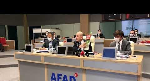 İstanbul AFAD İl Müdürlüğü Afet Koordinasyon ve Değerlendirme Toplantısı