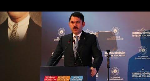 İSTANBUL'DA - MURAT KURUM'UN KATILIMI İLE - KENTSEL DÖNÜŞÜM İSTİŞARE TOPLANTISI DÜZENLENDİ