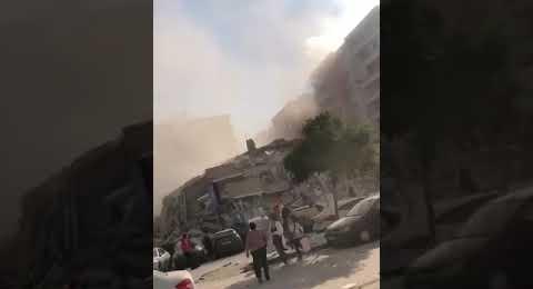 İzmir Deprem Görüntüleri 1