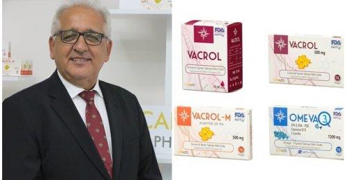 Carmed İlaç Yönetim Kurulu Başkanı Mustafa Can Covid 19'a Karşı Vacrol gıda takviyesini tanıttı