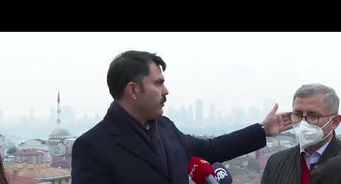Murat Kurum, İstanbul'un en büyük kentsel dönüşümünü başlatıyoruz