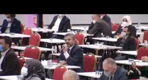 Mustafa Naim Yağcı'nın İBB Meclisinde Teşekkür Konuşması