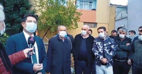 Yeni Sahra Mahallesinde Kentsel Dönüşümden Kaynaklanan Yıkım Gerginliği Orhan Çerkez'in konuşması