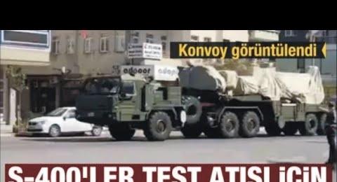 S 400 LER DENEME ATIŞLARI İÇİN SİNOP'TA