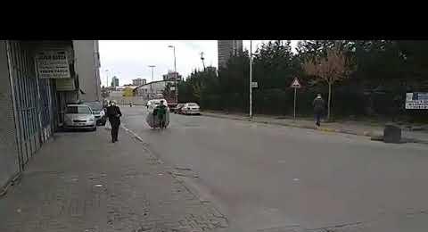 Sokağa Çıkma Uygulamasında Yeni Sahra Mahallesi görüntüsü 20 Aralık 2020