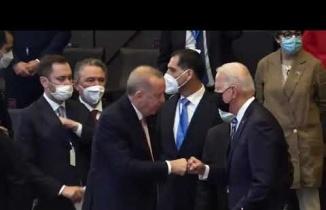 Cumhurbaşkanı Recep Tayyip Erdoğan, ABD Başkanı Biden görüşmesi