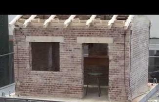 Duvar yapısının Depreme Dayanıklılık, Sismik test görüntüsü