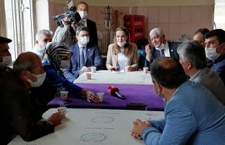 CHP Genel Başkan Yard., İstanbul Milletvekili Gamze Akkuş İlgezdi, Çankırı'da Muhtarlarla buluştu