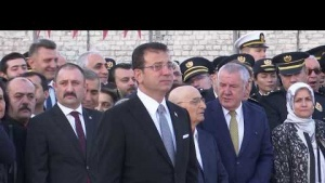 Gazi Mustafa Kemal Atatürk İstanbul'da Törenlerle anıldı