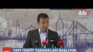İBB. İstanbul'da Bulunan Riskli Binaların Tespiti için çalışma başlatıyor