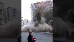 İzmir Seferihisar Deprem Görüntüleri 9