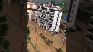 Rize Çayeli Sel Baskını. 2020