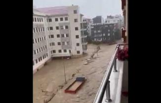 Rize Sel Baskını