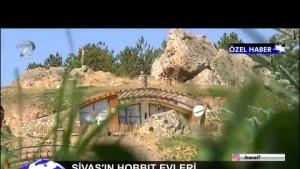 SİVAS'IN HOBBİT EVLERİ - YAMAÇ EVLER