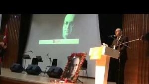 Uğur Mumcu - Ataşehir'de Anıldı - CHP Ataşehir İlçe Başkanı Celal Yalçın'in Konuşması 2020