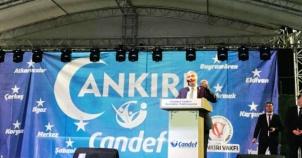 ÇANDEF Maltepe Gülsuyu Stadı Büyük Çankırı İftarı 2018