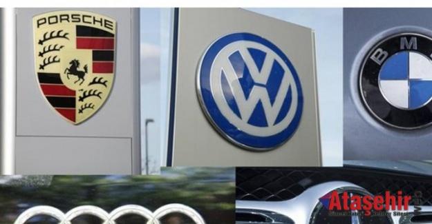 Alman Otomotiv devlerine rekabet soruşturması