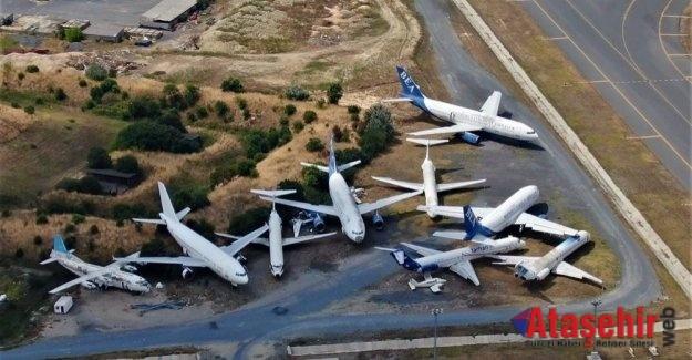 Atatürk Havalimanı'nda bırakılan uçaklar açık artırma ile satılacak