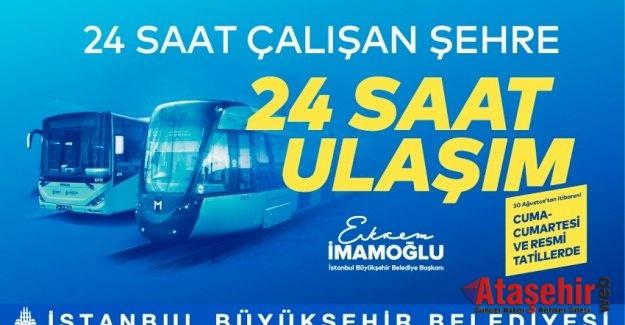 İstanbul, gece ulaşımında dünya kenti olacak
