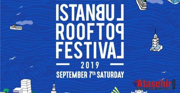 İstanbul Rooftop Festival, 7 Eylül'de İstanbullularla buluşacak!