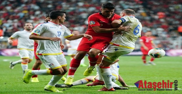 ANDORRA'YI TEK GOLLE 1-0'LIK SOKORLA GEÇTİK