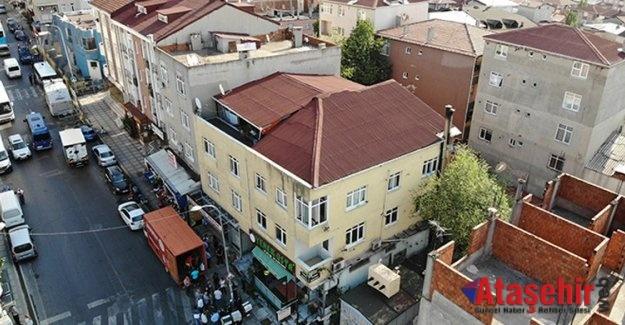 Ataşehir'de Çökme Riski Bulunan Bina Mühürlendi