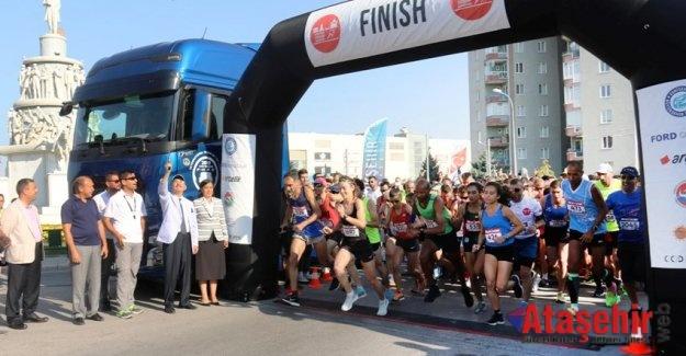 Ford Otosan Eskişehir Kurtuluş Yarı Maraton'u gerçekleşti