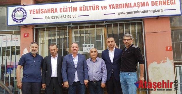 MHP Ataşehir İlçe Teşkilatı'ndan Yenisahra Derneğine ziyaret