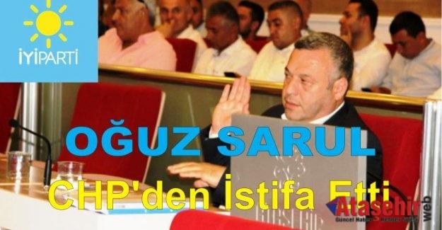 Oğuz Sarul CHP'den İstifa Etti