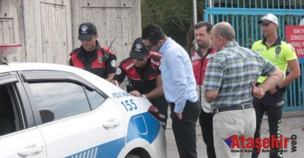 Trafikte araçta sigara içen sürücü polise yakalandı