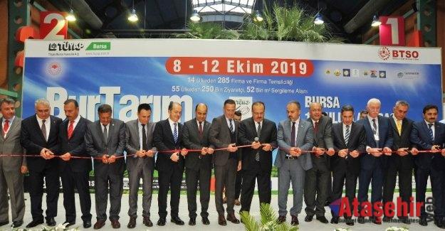 Bursa Tarım Fuarı'nda 2.5 Milyon TL'ye Traktör
