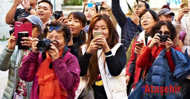 Çinli turistler ilk 8 ayda yüzde 50 arttı