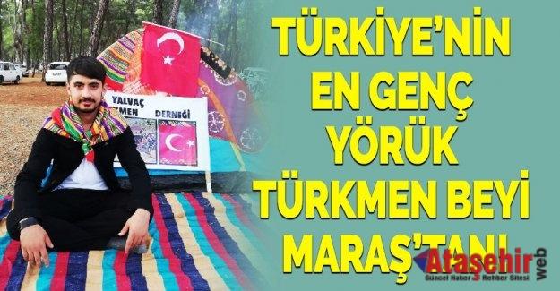 Türkiye'nin En Genç Yörük Türkmen Beyi Kahramanmaraş'tan!