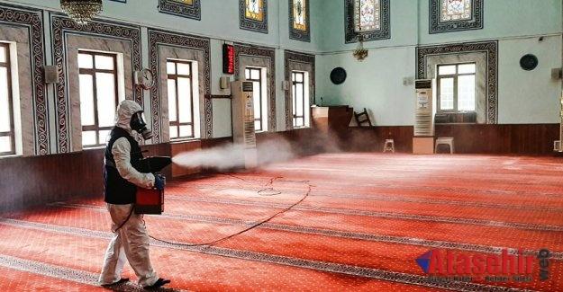 ATAŞEHİR'DE CAMİLER 29 MAYIS'A HAZIR