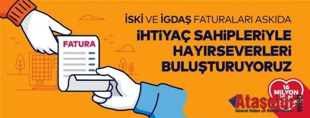 İSTANBUL'DA ON GÜNDE 125 BİNE YAKIN FATURA ASKIDAN İNDİ