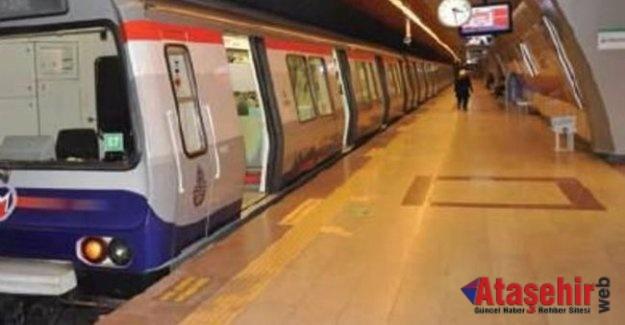 İstanbul'da  Taksim'e çıkan metro istasyonları kapalı olacak